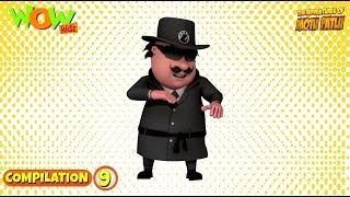 Motu Patlu - Non stop 3 episodes | 3D Animation for kids - #9