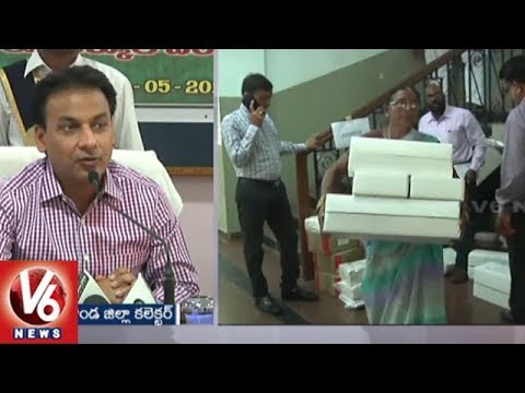 Nalgonda Collector Gaurav Uppal: All Set For Rythu Bandhu Cheques & Passbooks Distribution | V6