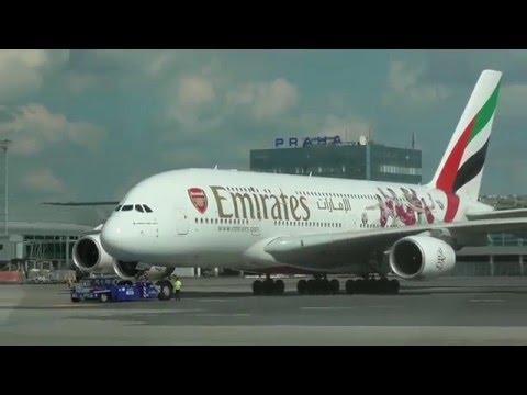 A380 v Praze - kveten 2016