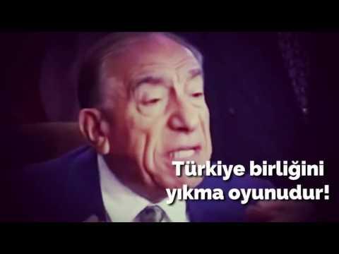 Başbuğ Alparslan Türkeş Başkanlık Sistemi