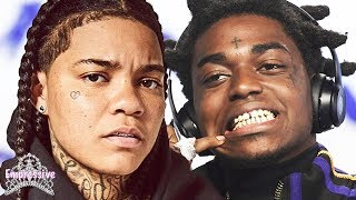 Young Ma is mad at Kodak Black for crushing on her! (Full Beef Breakdown)