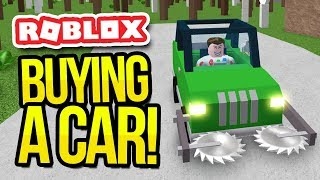 BUYING A CAR in WOODCUTTING SIMULATOR