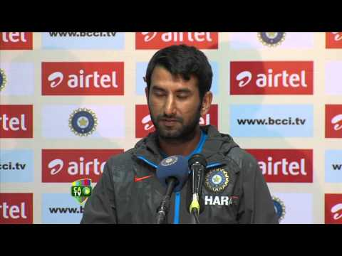 Cheteshwar Pujara press conference India - March 4th