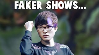 FAKER Shows What His EKKO IS CAPABLE OF... | Funny LoL Series #54