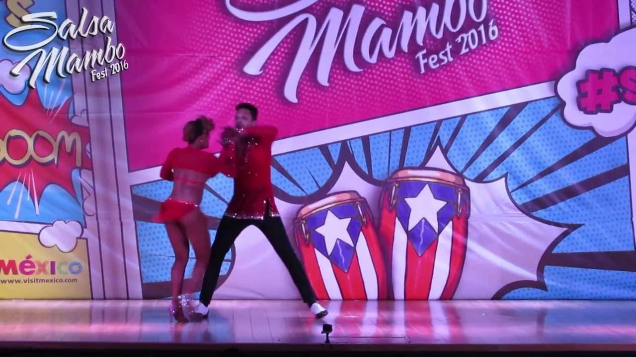 Charlie Garcia & Delia Madera | Salsa Mambo Fest 2016