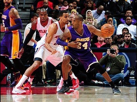 Kobe Bryant Scores 32,000th Career Point