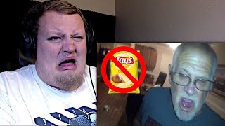 Angry Grandpa Hates Lay's Do Us A Flavor! (REACTION)
