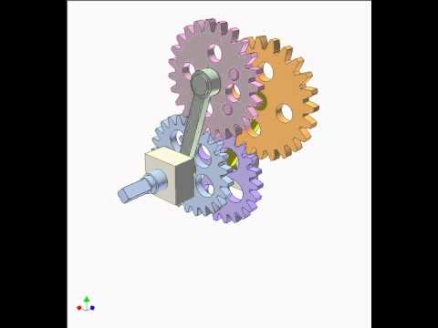 Gear and linkage mechanism 6b