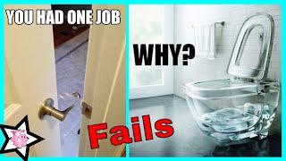 Epic Interior Design Fails || You Had One Job