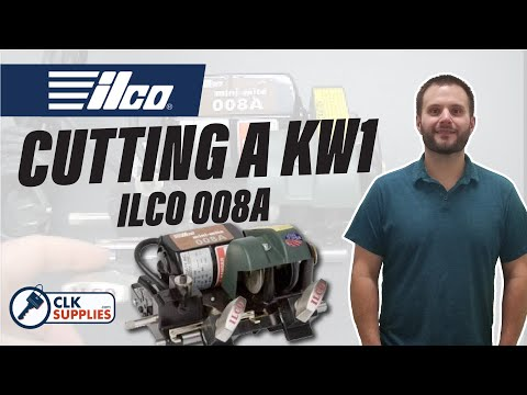 ilco key cutting machine