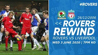 ⏪ #RoversRewind: Rovers vs Liverpool