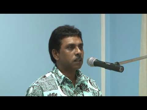 Director Fiji Meteorological Services closes Third Country Training Program.
