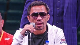 Manny Pacquiao POST FIGHT HIGHLIGHTS vs. Keith Thurman