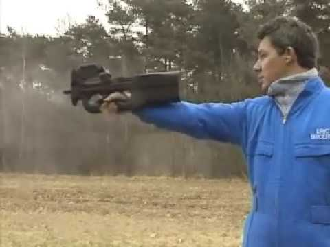 P90 One Hand Shooting