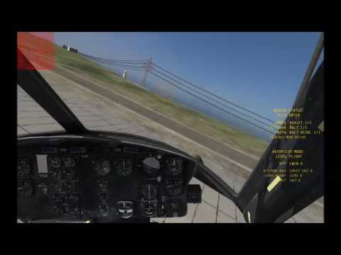DCS: UH-1H Huey - Destroying a few Helicopters