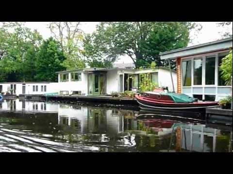 Boat Trip In Leiden (Holland)