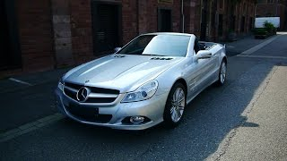 Mercedes Benz SL600 V12 Sound + Review (Facelift R230)
