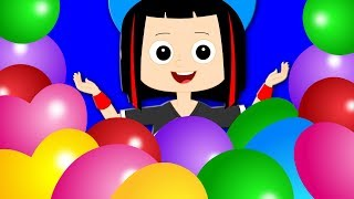 Balloon Song | Original Nursery Rhymes | Kids Songs | Baby Videos | Children Rhymes Collection