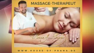 Entspannende Massage zur Entwässerung und Entschlackung