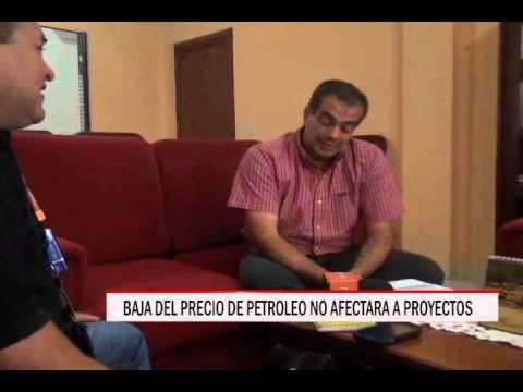29/10/2014 - 20:12 BAJA DEL PRECIO DEL PETROLEO  NO AFECTA A PROYECTOS
