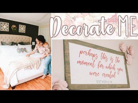 DECORATE WITH ME 2018 | HUGE HOBBY LOBBY HOME DECOR HAUL! | Page Danielle