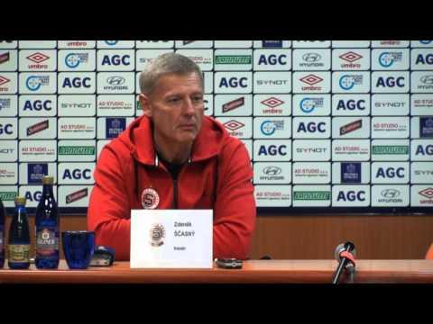 Tisková konference hostujícího trenéra po utkání se Spartou (1.5.2016)