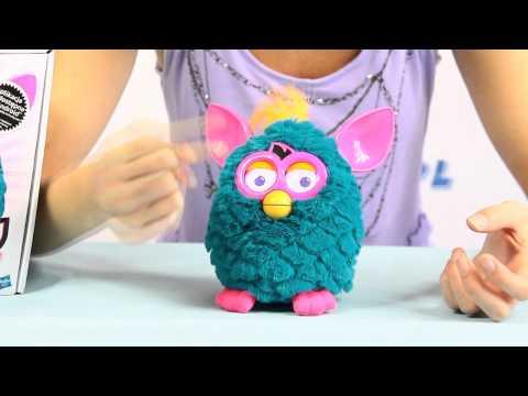 Sociable Furby Punk / Towarzyski Furby Punk - Niebieski / Teal/Pink - Cool - Hasbro