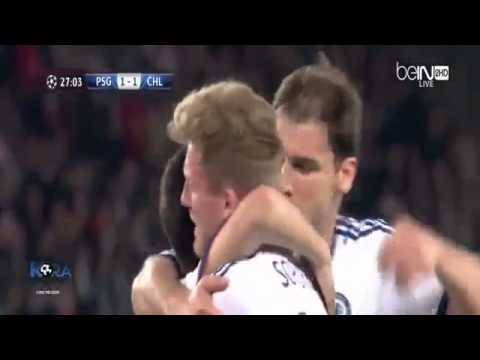 Paris Saint Germain vs Chelsea 3 1 2014 ~ All Goals & Highlights ~ 02 04 2014 Champions League