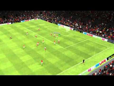 Arsenal vs Sunderland - Nasri Goal 25th minute