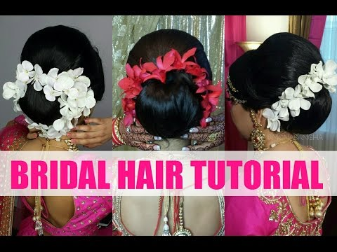 Tutorial | Indian Bridal Hair/Updo | Mona Sangha
