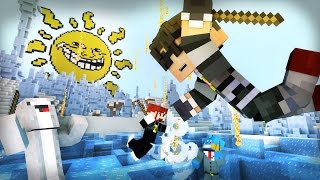 Minecraft Mini-Game : WINTER MELTDOWN! /w Facecam