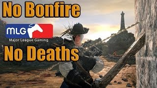 Dark Souls 2 NG+++ - No Bonfire/Deaths - Final Boss Fight - Ring of Conqueror/Exalted
