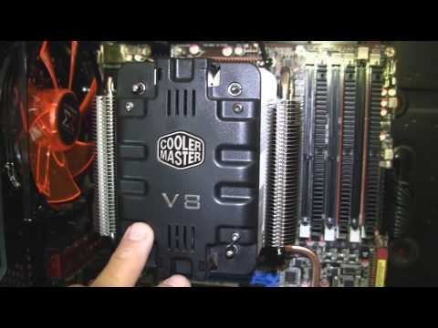 Here in (Part 1) I will demonstrate how to disassemble the CM V8's cover plate and fan. The V8 is a very nice looking cooler, but I feel CM left some room fo...