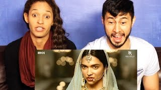 BAJIRAO MASTANI trailer reaction re-uploaded (accidentally deleted)