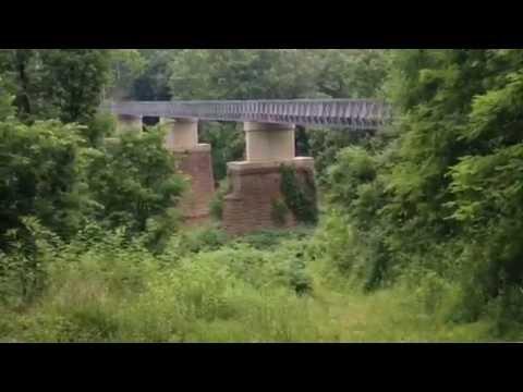 Abandoned Railroad West Penn Bike Trail. See 4 miles in 6 Mins.!