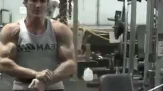 John Hansen Training Back/Bi's Pre All Natural Olympia