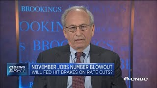 November jobs report proves Fed right to cut rates, former top official says