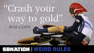 Intentionally crashing led Britain to win a gold medal | Weird Rules
