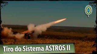 Tiro do Sistema ASTROS II - Lançador Múltiplo de Foguetes