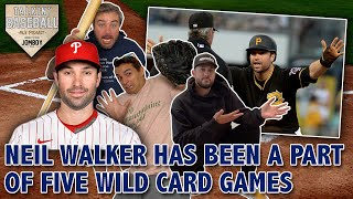 Neil Walker has been a part of five Wild Card Games since it became a thing in 2012