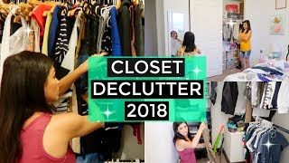 HOW TO DECLUTTER YOUR CLOSET - SUMMER 2018 EDITION \\ Style Mom XO