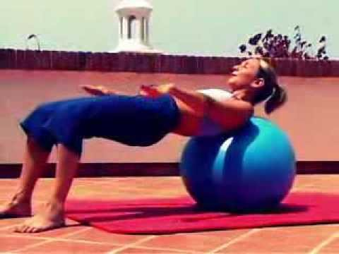 pilates gym ball workout full version