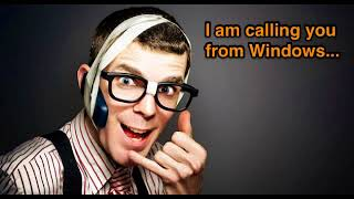 Beware of Cold Calls from Windows Tech Support