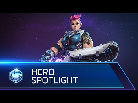 Zarya Spotlight – Heroes Of The Storm