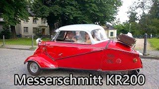 Messerschmitt KR200 bubble car close-up in Bonn.