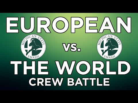 MSU Smash - Europe vs. The World Crew Battle - 4/26/2016 - Melee