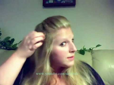 Wedding Hair Tutorial Greek Goddess Part 1