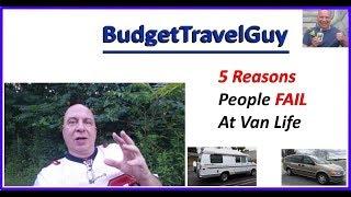 5 Ways To Fail At Van Life