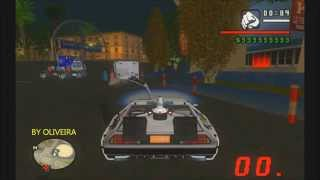 BTTF MARTY MCFLY DELOREAN BACK TO THE FUTURE GTA SAN ANDREAS 2015 BY OLIVEIRA FULL HD 1080p