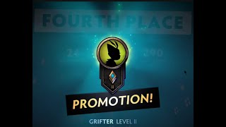 Underlords - Promoted to Grifter Level II - Tried Troll, Demon, Demon Hunter 1st Game